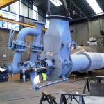 QUEIMADOR KILN BURNER COEN Peso: +/- 600 kg Dimensões: 1100 x 6300 mm Normas: ASME VIII Div. I/ ASME IX Material: A-106 Ano de Fabricação: 2013