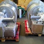 QUEIMADORES MSC2-325 Peso: 600 kg/un Dimensões: – Normas: N-268/ ASME VIII Div. I/ ASME IX Material: A-36 Ano de Fabricação: -