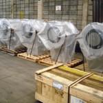 Queimadores SF5 Peso: 750 kg Dimensões: 1300 X 1500 mm Normas: ASME VIII Div. I/ ASME IX Material: A-36 Ano de Fabricação: 2010