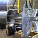 QUEIMADOR QUATTOR Peso: 900 kg Dimensões: 1700 X 2600 mm Normas: ASME VIII Div. I/ ASME IX Material: A-36 Ano de Fabricação: 2011