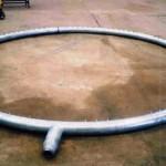 ANEL DE VAPOR Peso: – Dimensões: – Normas: – Material: AISI 304 Ano de Fabricação: 2001
