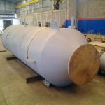 SELO MOLECULAR Peso: 2500 kg Dimensões: ø 1372 x 5181 Normas: ASME VIII DIV. 1 Material: A-36 Ano de Fabricação: 2013