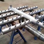 DISTRIBUIDOR DE AR PARA RESFRIADOR Peso:2 ton Dimensões:2000 mm X 1500 mm Normas:N-0268 / ASME VIII Div. I / ASME IX Material:AISI 304 H Ano de Fabricação: 2015