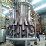 """FLARE TIP HSA 48"""" Peso: 9 ton Dimensões: 4500 mm X ø 48""""  Normas: N-0268 / ASME VIII Div. I e ASME VIII Div. 2 Material: AISI 310 / AISI 304 / AISI 316 L / A106-B / A105 / ASTM A36 Ano de Fabricação:2014"""
