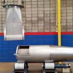 Peso:700 kg Dimensões:ø 823mmX 3100mm Normas:N-0268 / ASME VIII Material:Aço Inox Super Duplex Ano de Fabricação: 2015