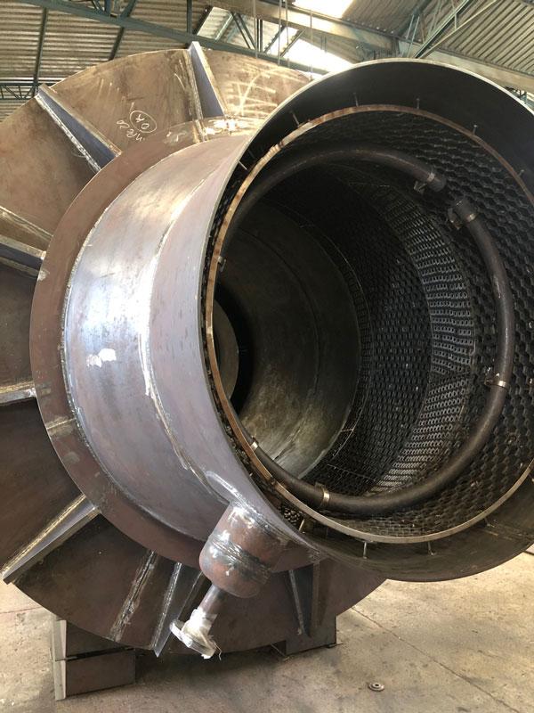 Camisa, tampo do teto e forma de refratamento para pote de selagem BYPASS F-631B (Petrobras/RLAM)